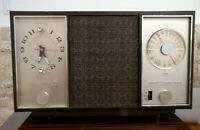 Vintage ZENITH CLOCK RADIO AM/FM Alarm Clock MODEL M729 Looks And Sounds Great!