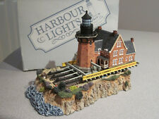 Harbour Lights- Southeast Block Island on the Move - RI - Signed - Unique - VGC