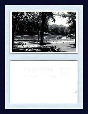 ILLINOIS BATAVIA QUARRY PARK DENNY HARRIS REAL PHOTO EKC BACK CIRCA 1948