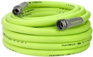 Flexzilla HFZG550YW Garden Lead-In Hose 5/8 In. x 50 ft, Heavy Duty, Lightweight