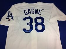 "Eric Gagne ""3X AS"" signed Los Angeles Dodgers Jersey JSA Cert# W834335"