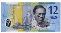 Allan Moffat - Commemorative Twelve Dollar note -- Not Legal Tender  -- C010602-