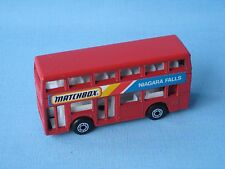 Matchbox MB-17 Titan Bus Niagara Falls Rare Promo 75mm Toy Model