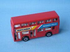 Matchbox MB-17 Titan Bus Niagara Falls Rare Promo 75mm Toy Model
