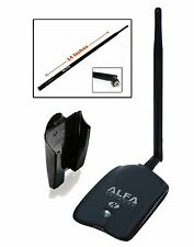 Alfa AWUS036NHA - Wireless B/G/N USB Adaptor - 150Mbps - 2.4 GHz - 5dBi Antenna