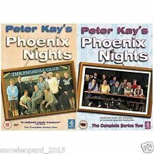 PETER KAY'S PHOENIX NIGHTS COMPLETE SERIES 1+ 2 DVD COLLECTION ALL 12 EPISODES