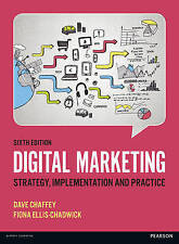Digital Marketing: Strategy, Implementation and Practice 6e By Dave Chaffey 6th
