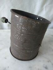 Antique Bromwell flour sifter