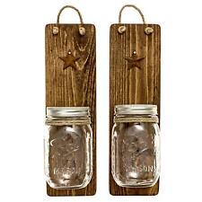 Mason Jar Wall Sconces Decor Home Western Rustic Wedding Home Barn Gift New