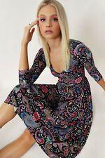 Blackmilk Paisley Daze 3/4 Sleeve Dress
