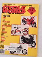 Cycle World Magazine BMW Cagiva-Ducati 750F1 December 1986 030517NONRH