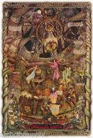POSTER :FANTASY: DRACULA'S CASTLE by AL LORENZ - FREE SHIPPING #24-110 RP73 L
