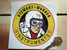"Stewart-warner instrument imsa corvette autocollants 5"" paire"