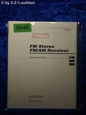 Sony Bedienungsanleitung STR DE597 FM/AM Receiver  (#3046)