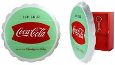 COCA COLA COKE SIGN BOTTLE CAP KEY BOX HOLDER NEW!!