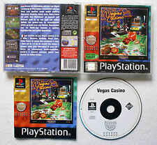 VEGAS CASINO sur Sony PLAYSTATION 1 PS1