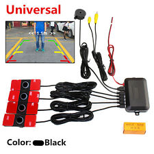 New Visible Dual Core CPU Flat Reverse Car Video Parking Sensor Reverse Backup