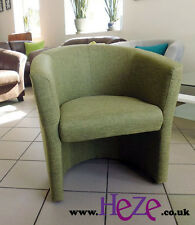 Absolutely amazing tub chair, vintage style, lovely green fabric