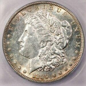1889-S 1889 Morgan Silver Dollar ICG MS61