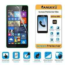 3x PELLICOLA per Nokia Microsoft Lumia 535 FRONTE + PANNO PROTETTIVA DISPLAY
