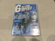 HUGE THRILLS: 6 ACTION MOVIES DVD SET NEW