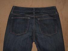 GAP 1969 Size 27 / 4a Long & Lean Dark Blue Stretch Denim Womens Jeans