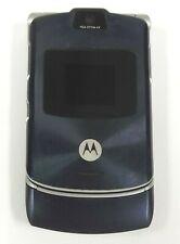 Motorola Razr V3a - Cosmic Blue ( Alltel ) Cellular Flip Phone