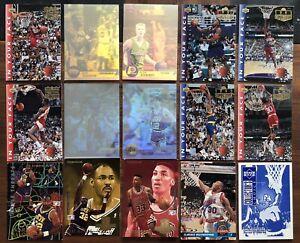 Upper deck NBA - 15 Cartes 1993/94/95
