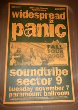 Widespread Panic Sector 9 Soundtribe 2000 Seattle Concert Poster 11x17