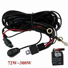 Wiring Harness Kit 40A 14V ON / OFF Switch Relay For 72W~300W LED Work Light Bar