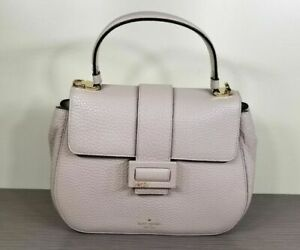kate spade new york Carlyle Street Justina, Warm Marshmallow Pebbled Leather