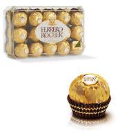 30 x Ferrero Rocher Hazelnut Fine Milk Wafer Chocolate 375g Gift Kids Snack Pack