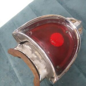 1957 CHEVY BEL AIR 150 210 LEFT/ DRIVER SIDE TAIL LIGHT HOUSING OEM