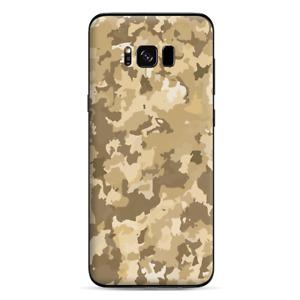 Skins Decals for Samsung Galaxy S8 - Brown Desert Camo camouflage