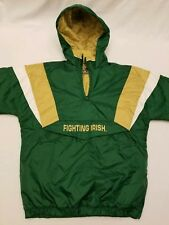 Vtg Reebok Heisman Collection Youth Xl 18-20 Notre Dame Jacket Pullover Heavy