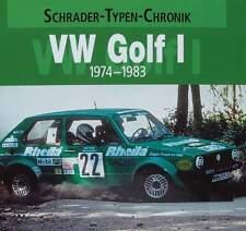 BOEK/LIVRE : VW GOLF 1 (volkswagen voiture de collection,cabriolet,oldtimer,gti