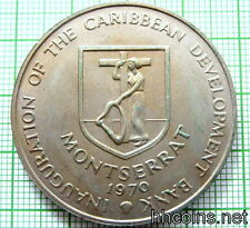 MONSERRAT 1970 4 DOLLARS, CARIBBEAN DEVELOPMENT BANK, F.A.O. SERIE BANANAS, UNC