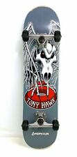 Vintage Tony Hawk Falcon 4 Series Complete Skateboard Deck Silver Bird Skull