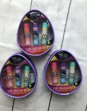 3 Sets Of Kids Trolls World Tour Lip Balm 3 Lip Balms