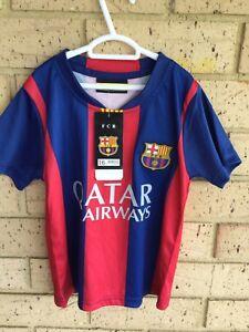 F.C.BARCELONA *NEYMAR JR #11 *FOOTBALL JERSEY *MES QUE  UN CLUB. CHILD (16).