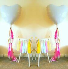 helium balloon weights tassels garland wedding girls birthday party decorations