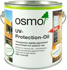 Osmo UV Protection Oil Extra 420 D Clear Satin 2.5 litre + For Exterior Wood