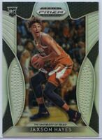 Jaxson Hayes Rookie Card 2019 Panini Prizm Draft Picks SILVER #9 Texas Longhorns