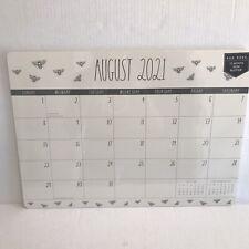 Rae Dunn Desk Calendar 2021 2022 Aug Dec Desk Pad 17 Mo You Chose Bee Butterfly