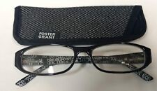 """Foster Grant Reading Glasses """"Kay"""" +1.00 Strength, Includes Case"""