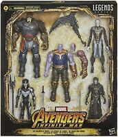 "Marvel Legends 6"" Children of Thanos Box Set Exclusive MCU Studios Infinity War"