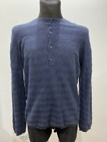 Perfect Condition Nigel cabourn long sleeve size M Navy Blue
