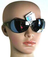 Occhiali da Sole Unisex Uomo Donna GATTINONI Lenti Nere Protezione UV400 SA189