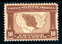USAstamps Unused VF US 1904 Louisiana Purchase Scott 327 OG MLH