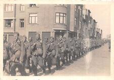 Einmarsch deutsche Soldaten in Brüssel Belgien